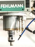 Our Swiss-made Fehlman machine tool, which was manufactured by hand, is a rarity in Finland.
